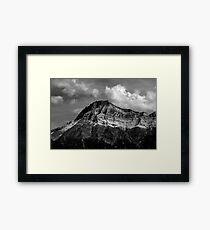 Vimy Mountain Framed Print