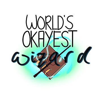 World's Okayest Wizard by sinamonroll