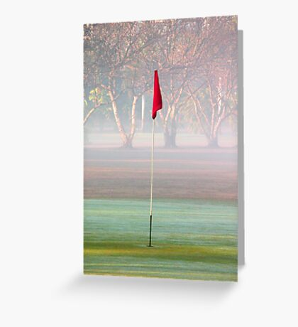Hole in one..... Greeting Card