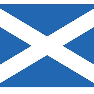 ST ANDREWS FLAG of SCOTLAND by jazzydevil