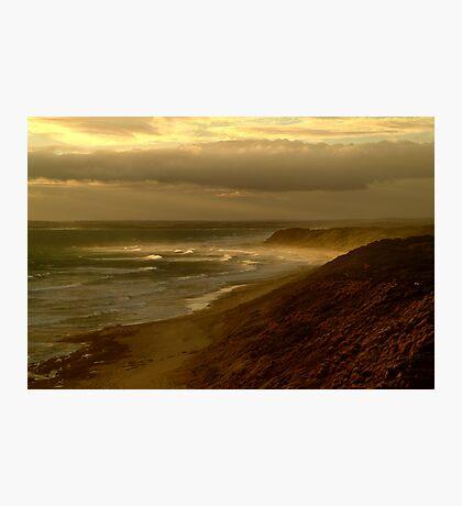 Sunburst 13th Beach,Bellarine Peninsula Photographic Print