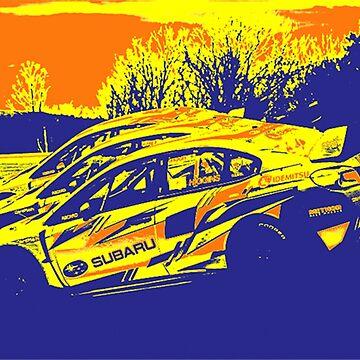 Subaru Poster by roccoyou