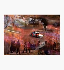 A 911 in the Corkscrew  Photographic Print