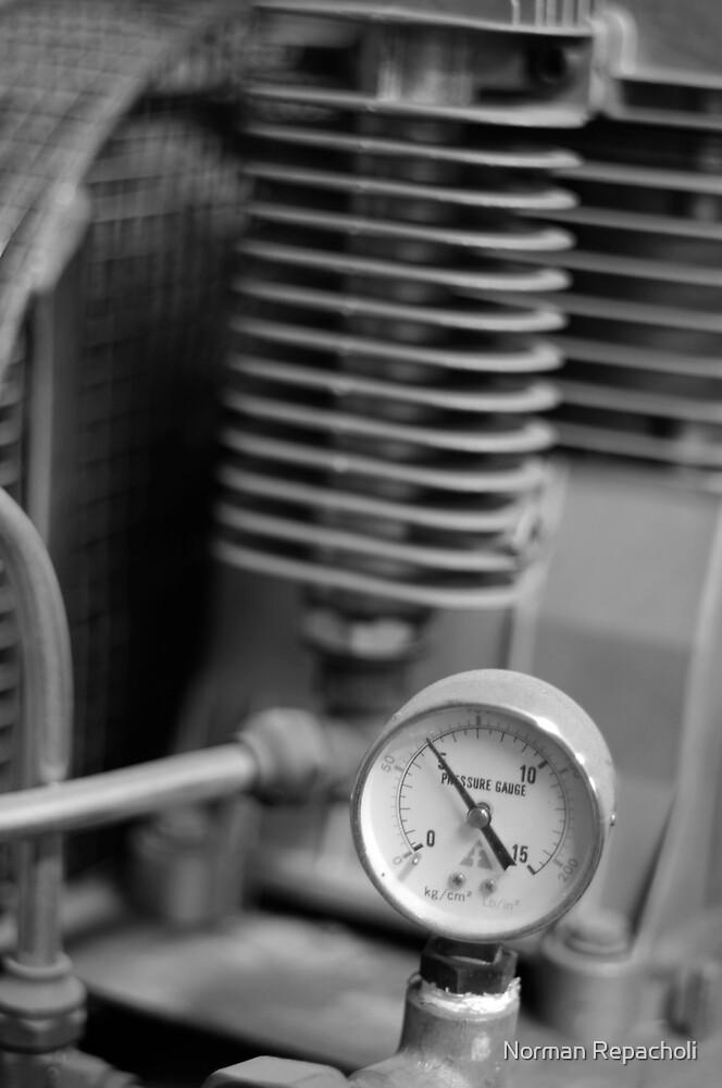 Under Pressure by Norman Repacholi