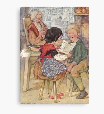 Heidi: Peter Reading Canvas Print