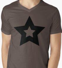 Star 4 Mens V-Neck T-Shirt