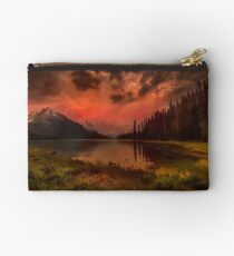 Maligne Lake, Canada Zipper Pouch