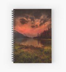 Maligne Lake, Canada Spiral Notebook