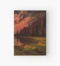 Maligne Lake, Canada Hardcover Journal