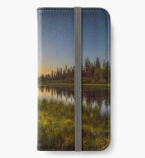 Bow River Setting Sun iPhone Wallet/Case/Skin