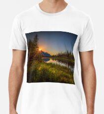 Bow River Setting Sun Premium T-Shirt