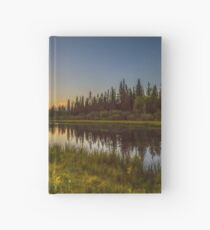 Bow River Setting Sun Hardcover Journal