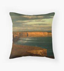 Port Campbell Coastline, Great Ocean Road Throw Pillow