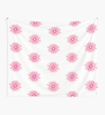 Flower sticker I  Wall Tapestry