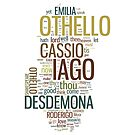 Shakespeare's Othello Wordplay by Incognita Enterprises