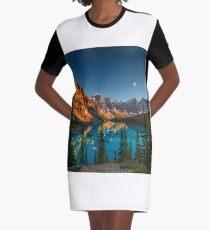 Moraine Lake - Canada Graphic T-Shirt Dress