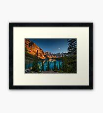 Moraine Lake - Canada Framed Print