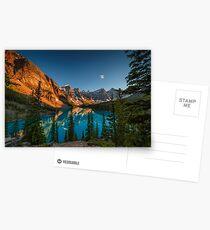 Moraine Lake - Canada Postcards