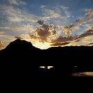 Mount Coxcombe Sunset by Graham Mewburn