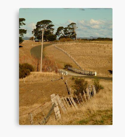 Coghill's Creek Bridge Canvas Print