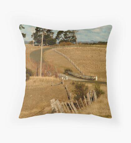 Coghill's Creek Bridge Throw Pillow