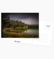 Maligne Lake - Canada Postcards