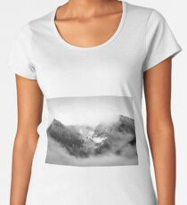 Mountain Peaks Premium Scoop T-Shirt