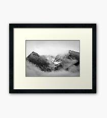 Mountain Peaks Framed Print
