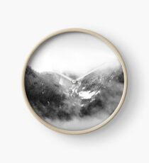 Mountain Peaks Clock