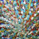 Peacock Flower by George Hunter