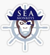 Pirate Monkey Sticker