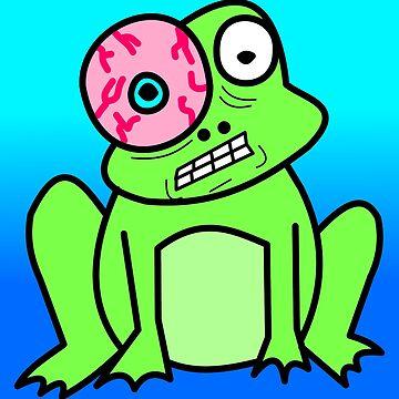 Stressed Frog by ChrisButler
