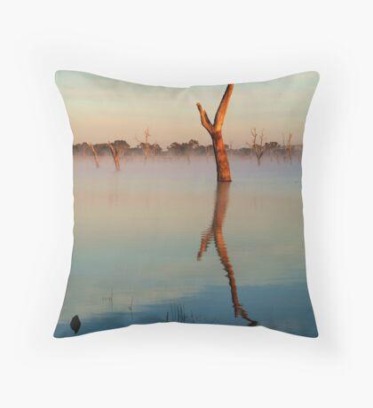 Lake Fyans Throw Pillow