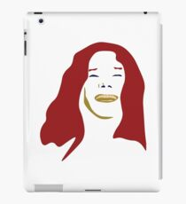 Janice in Red  iPad Case/Skin
