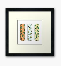 Lemon Lime-aid Framed Print