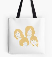 Led Zeppelin Orange Soda Tote Bag