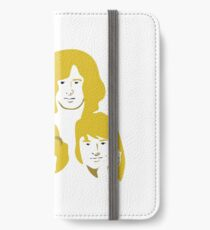 Led Zeppelin Golden iPhone Wallet/Case/Skin