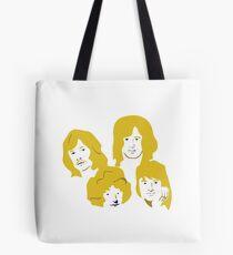 Led Zeppelin Golden Tote Bag