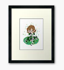 Chibi paladins- Pidge Framed Print