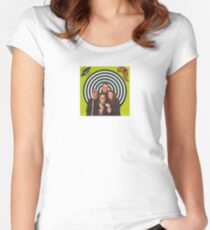 B-52s Love Shack Women's Fitted Scoop T-Shirt