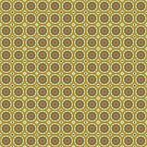 Pretty Yellow Flower Pattern by donnagrayson