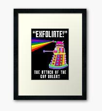 Gay Dalek Framed Print