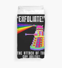 Gay Dalek Duvet Cover