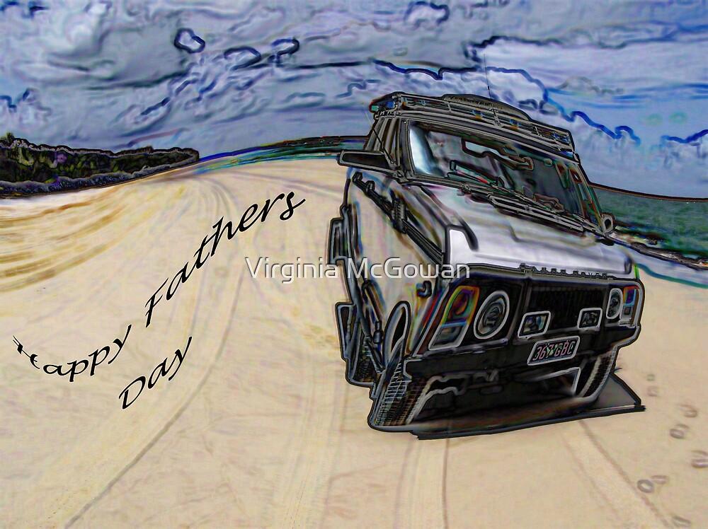 Fraser Island 4 x 4 by Virginia McGowan