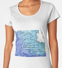 Dreamer Quote Women's Premium T-Shirt