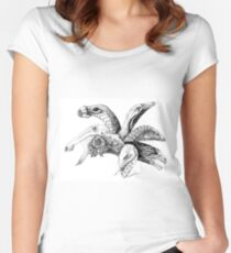 The Plant-Eater Squad Women's Fitted Scoop T-Shirt