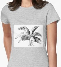 The Plant-Eater Squad Women's Fitted T-Shirt