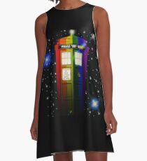 TARDIS A-Line Dress