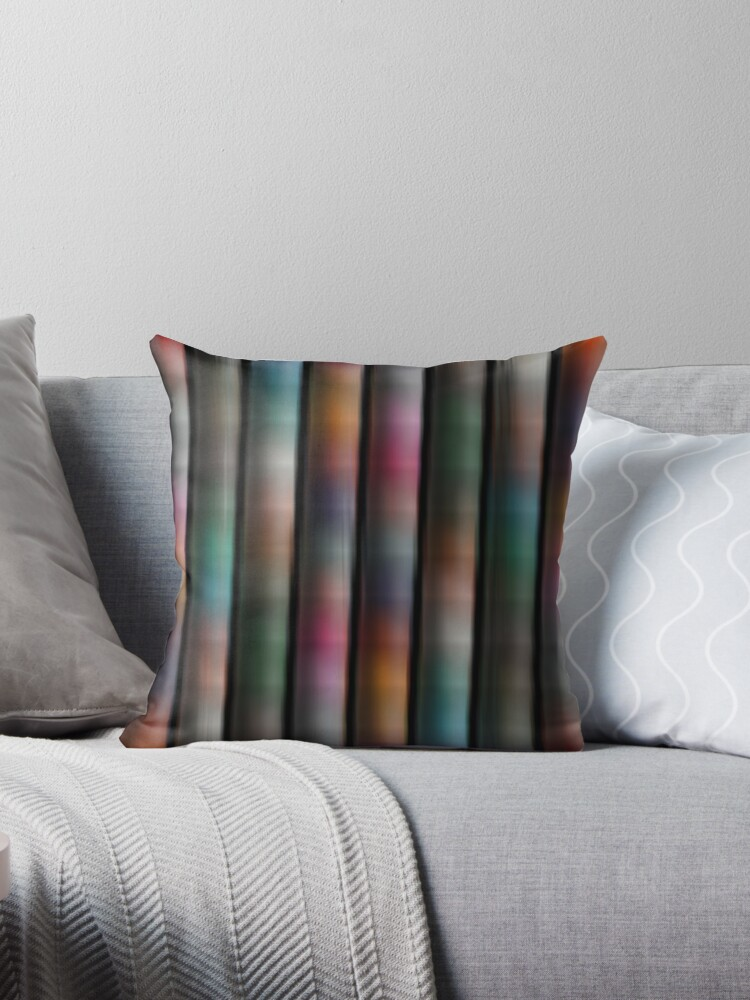 COLOURS ABOUND  SOFT TONE STRIPE by ozcushionstoo