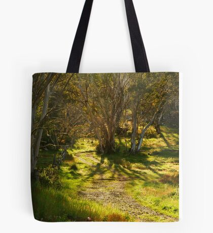 Morning, Dinner Plain Victorian High Country Tote Bag